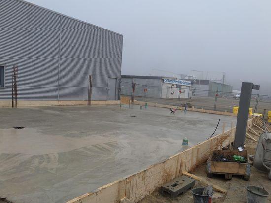 Neubau einer Halle (Vorschaubild)