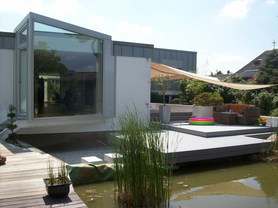 Neugestaltung Teich und Terrasse (Vorschaubild)